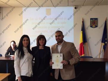 Сдача присяги Румынии